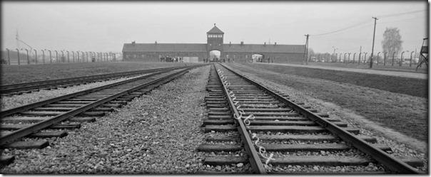 Auschwitz rail